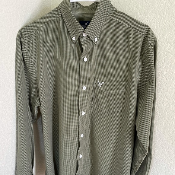 American Eagle Outfitters LS  Button  Shirt Sz M